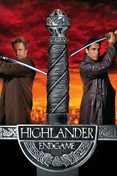 Highlander: Endgame movie poster.