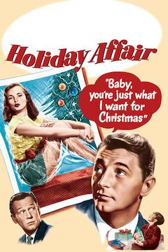 Holiday Affair movie poster.