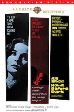 Home Before Dark movie poster.