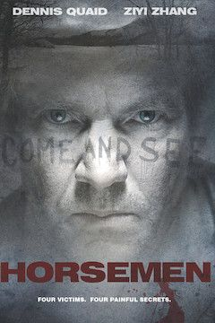 Horsemen movie poster.