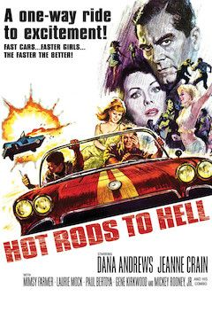 Hot Rods to Hell movie poster.