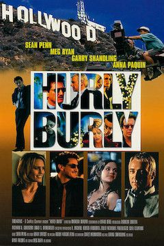 Hurlyburly movie poster.