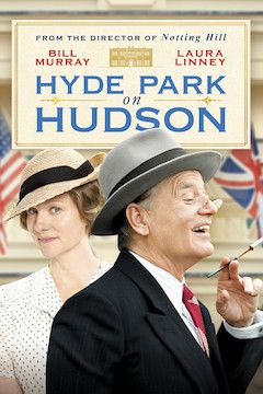 Hyde Park on Hudson movie poster.