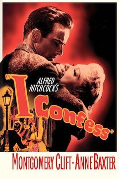 I Confess movie poster.