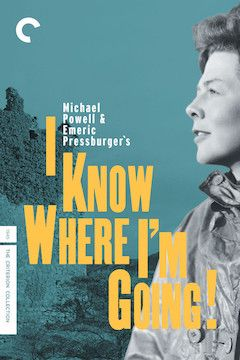 I Know Where I'm Going movie poster.
