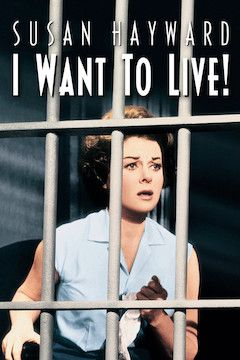 I Want to Live! movie poster.