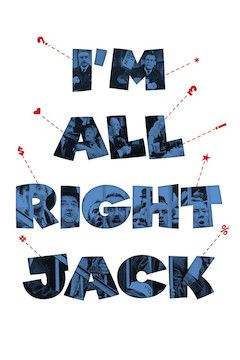 Poster for the movie I'm All Right Jack