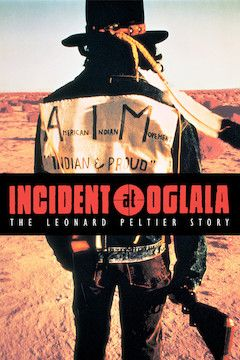 Incident at Oglala movie poster.