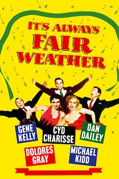 It's Always Fair Weather movie poster.