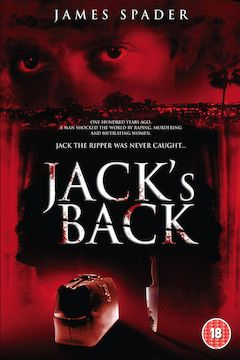Jack's Back movie poster.