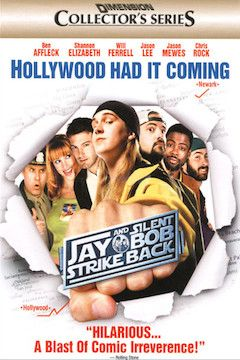 Jay and Silent Bob Strike Back movie poster.
