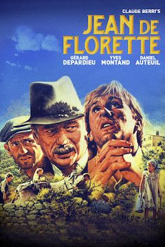 Jean de Florette movie poster.