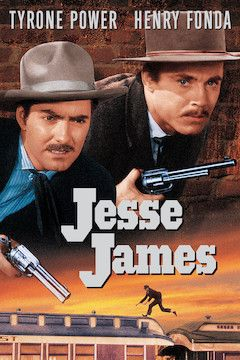 Poster for the movie Jesse James