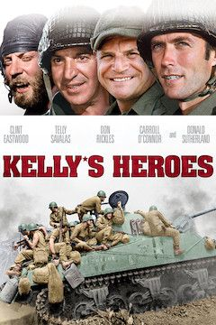 Kelly's Heroes movie poster.