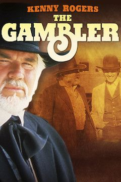 Kenny Rogers as the Gambler movie poster.