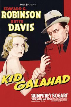 Kid Galahad movie poster.