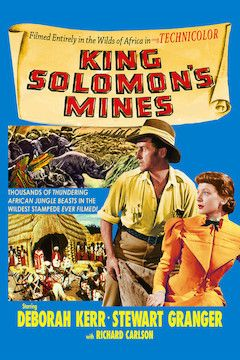 King Solomon's Mines movie poster.