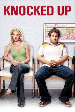 Knocked Up movie poster.