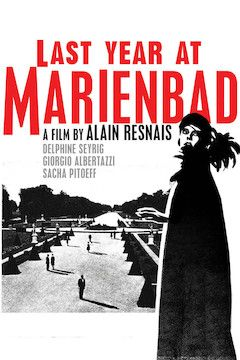 Last Year at Marienbad movie poster.