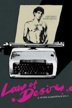 Law of Desire movie poster.