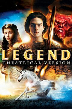 Poster for the movie Legend