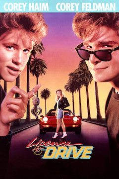 License to Drive movie poster.