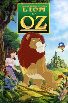 Lion of Oz movie poster.