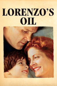 Lorenzo's Oil movie poster.