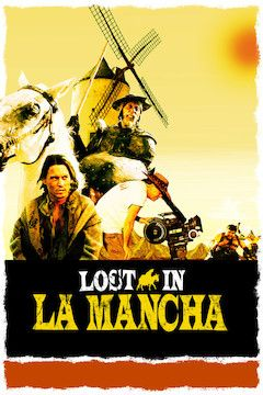 Lost in La Mancha movie poster.