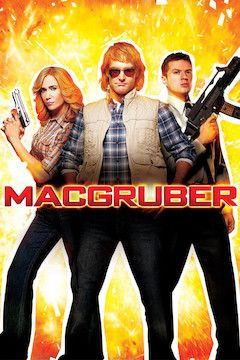 MacGruber movie poster.