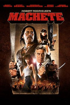 Machete movie poster.
