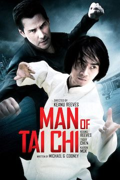 Poster for the movie Man of Tai Chi