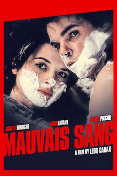 Poster for the movie Mauvais Sang
