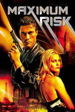 Maximum Risk movie poster.