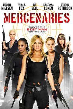 Mercenaries movie poster.