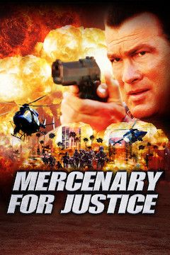 Mercenary for Justice movie poster.