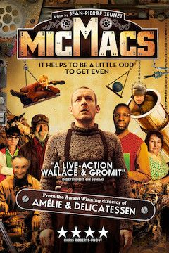 Micmacs movie poster.