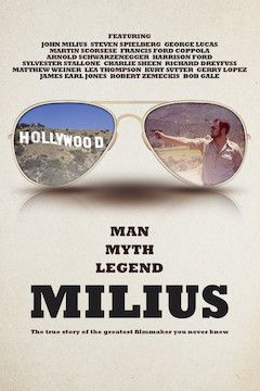 Poster for the movie Milius