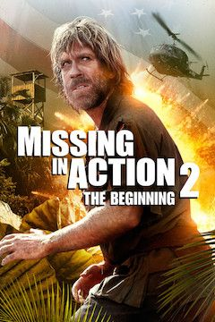 Missing in Action movie poster.