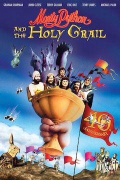 Monty Python and the Holy Grail movie poster.