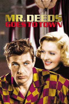 Mr. Deeds Goes to Town movie poster.