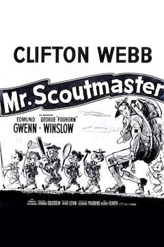 Mr. Scoutmaster movie poster.