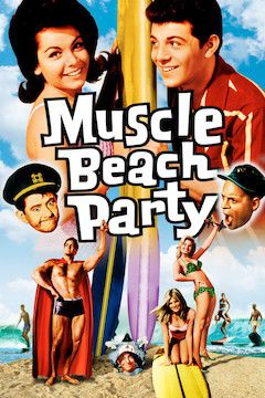 Muscle Beach Party movie poster.