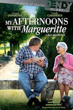 My Afternoons With Margueritte movie poster.