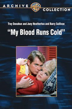My Blood Runs Cold movie poster.