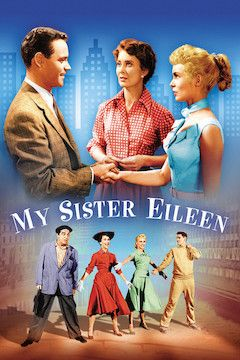 My Sister Eileen movie poster.
