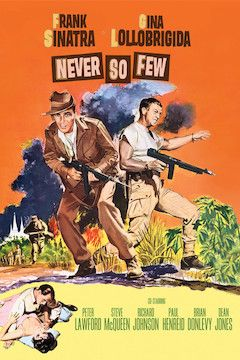 Never So Few movie poster.