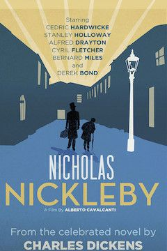 Nicholas Nickleby movie poster.