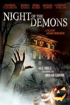 Night of the Demons movie poster.