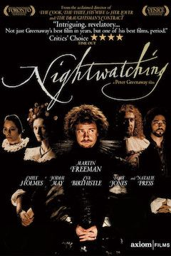 Nightwatching movie poster.